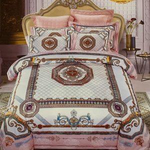 купить Постельное белье гобелен 144158 Розовый фото