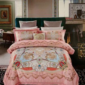 купить Постельное белье гобелен 147174 Розовый фото