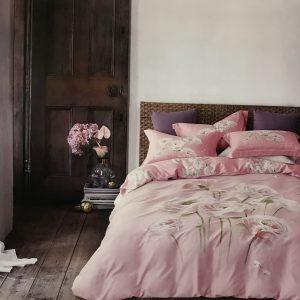 купить Постельное белье Тенсел кашемир 08833 Розовый фото