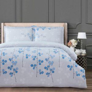 купить Постельное белье Arya Simple Living Miray Голубой фото