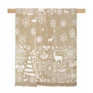 купить Плед Arya хлопок Christmas Snowy