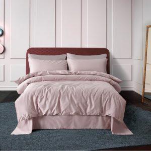 купить Постельное белье Bella Villa Сатин De Luxe T-0005 Розовый фото