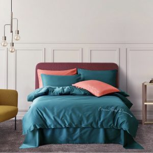 купить Постельное белье Bella Villa Сатин De Luxe T-0011 Бирюзовый фото