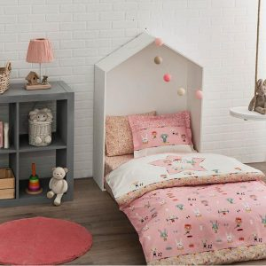 купить Детское постельное белье в кроватку TAC Game Pink Розовый фото
