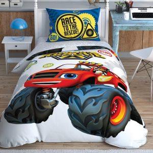 купить Детское постельное белье TAC Blaze Road Rescue Серый фото