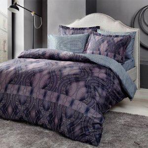 купить Постельное белье TAC Freja Бамбук Фиолетовый фото