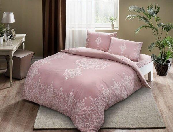 купить Постельное белье TAC Harper Pink Розовый фото