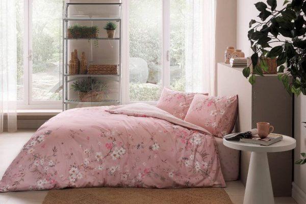 купить Постельное белье TAC Julian Pink Розовый фото