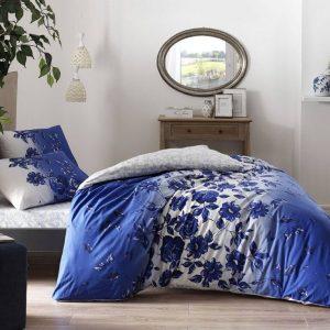 купить Постельное белье TAC Lizzy Blue Синий фото