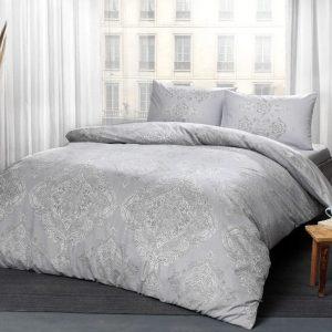 купить Постельное белье TAC Mirabel Grey Серый фото