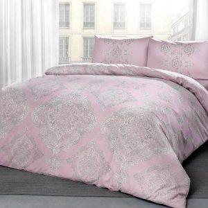 купить Постельное белье TAC Mirabel Pink Розовый фото