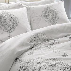 купить Светящееся постельное белье ТАС Ruby Серый фото