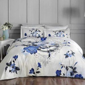 купить Постельное белье TAC Vella Blue Delux Голубой фото