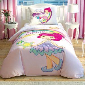 купить Детское постельное белье TAC Shortcake Shine Розовый фото
