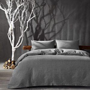 купить Постельное белье Bella Villa вареный хлопок W-0011 Серый фото