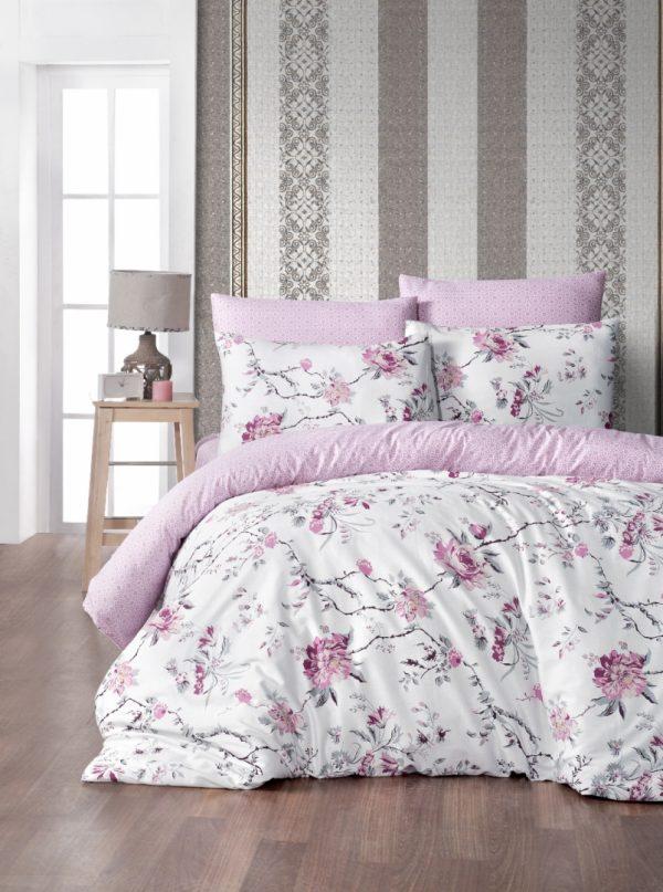 купить Постельное белье First Choice satin aqua series eva pink Розовый фото