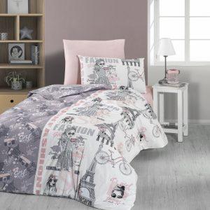 купить Постельное белье First Choice ранфорс fashion Розовый фото