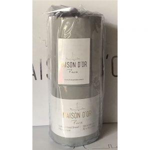 купить Простынь на резинке с наволочками saten grey