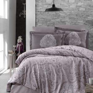 купить Постельное белье First Choice сатин люкс melina lavender Серый фото