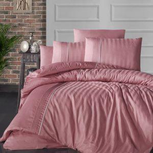 купить Постельное белье First Choice сатин де люкс modalife coral Розовый фото