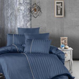 купить Постельное белье First Choice сатин де люкс modalife denim Синий фото