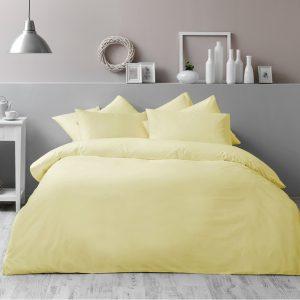 купить Постельное белье TAC Basic Yellow Желтый фото