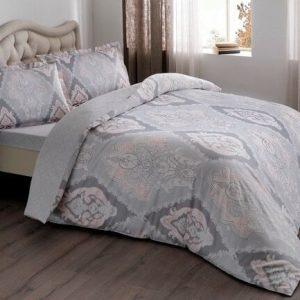 купить Постельное белье TAC Vales Pink Серый фото
