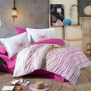 купить Постельное белье Hobby Home Poplin Eldora Розовый фото