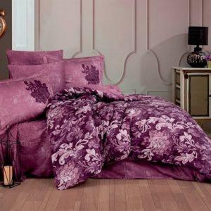 купить Постельное белье Hobby Home Exclusive Sateen ADELE Сиреневый фото
