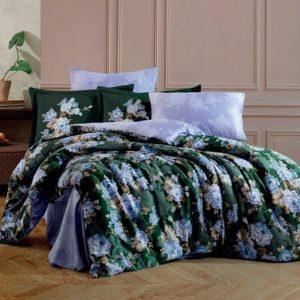 купить Постельное белье Hobby Home Exclusive Sateen ADRIANA Зеленый фото