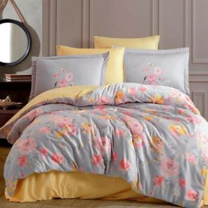 купить Постельное белье Hobby Home Exclusive Sateen CALVINA grey Серый фото