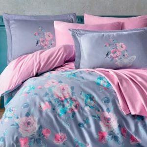 купить Постельное белье Hobby Home Exclusive Sateen CALVINA Розовый фото