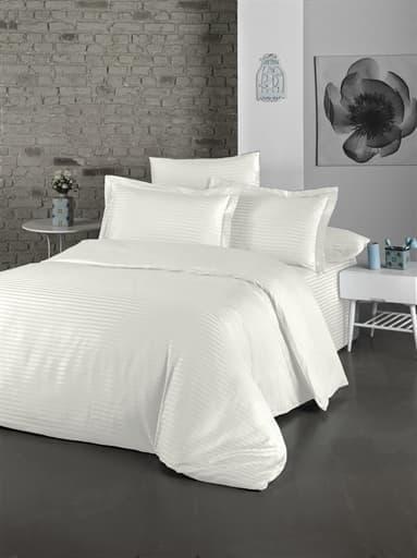купить Постельное белье LIGHTHOUSE Exclusive Sateen STRIPE LUX Белый фото