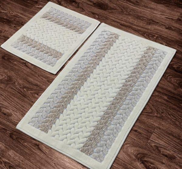 купить Набор ковриков Zugo Home Mercan Fidisi 50x60+60x100