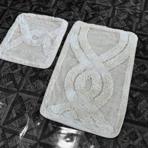 купить Набор ковриков Zugo Home Kario Fidisi 50x60+60x100