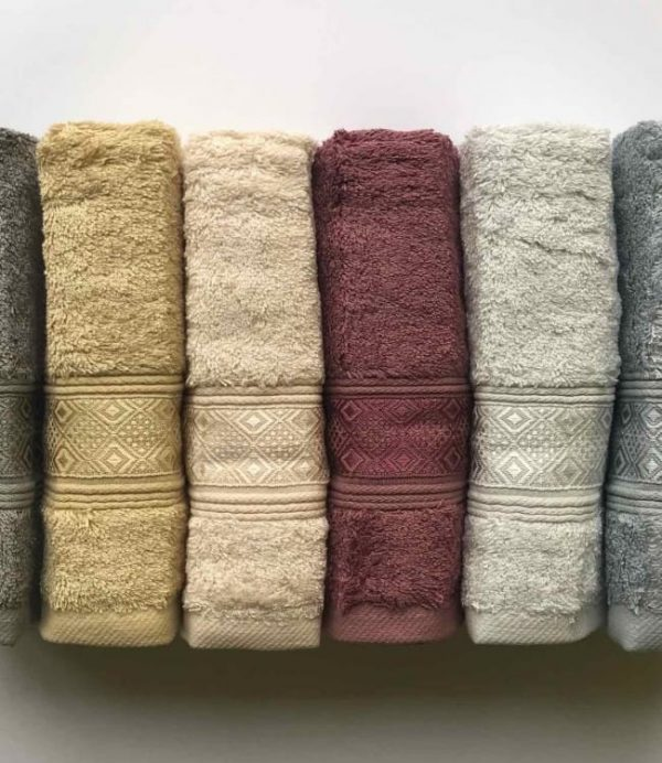 купить Набор махровых полотенец Sikel Bamboo Pirlanta 6 шт