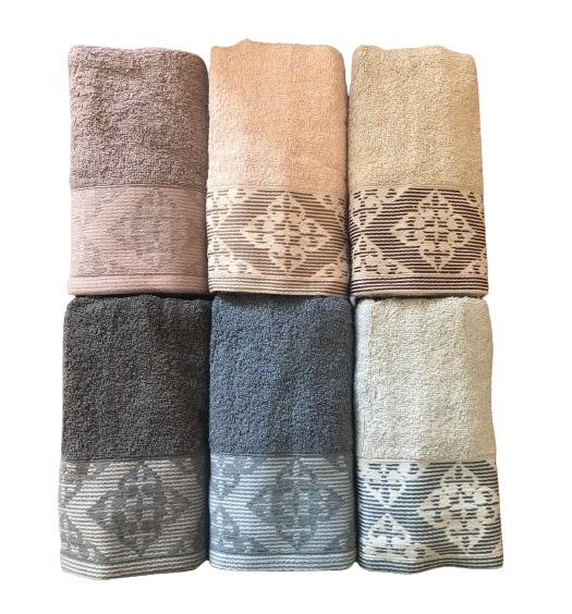 купить Набор махровых полотенец Purry Cotton Defne 6 шт