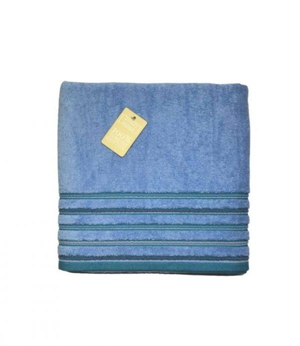купить Махровое полотенце Zugo Home Long Twist Erkek 100x150 голубой
