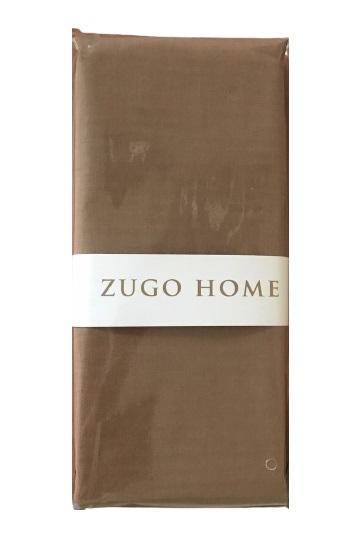 купить Набор наволочек Zugo Home ранфорс Basic шоколадный