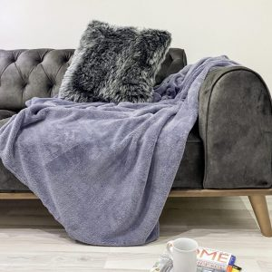 купить Плед Zugo Home Welsoft grey