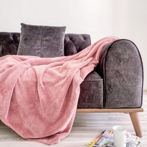 купить Плед Zugo Home Welsoft pink