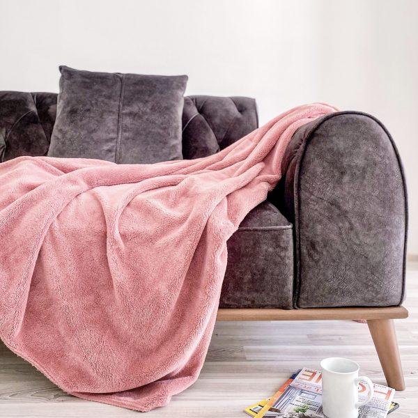 купить Плед Zugo Home Welsoft pink