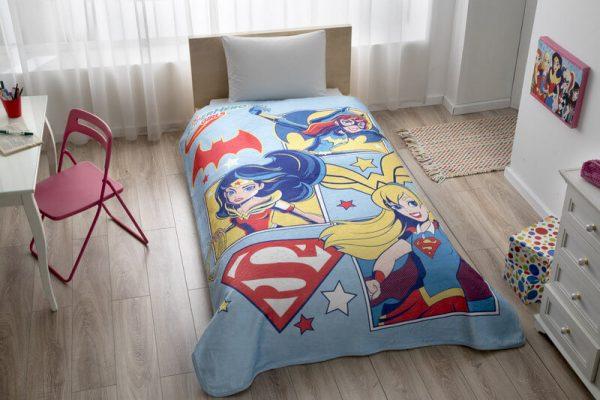 купить Покрывало-плед TAC DC Super Hero Girls