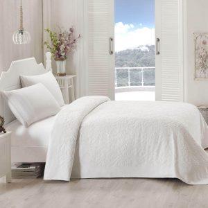купить Махровое покрывало-простынь TAC Lyon White