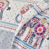 купить Постельное белье с покрывалом и пледом Karaca Home Sarah Anderson Felicia Голубой фото 105429
