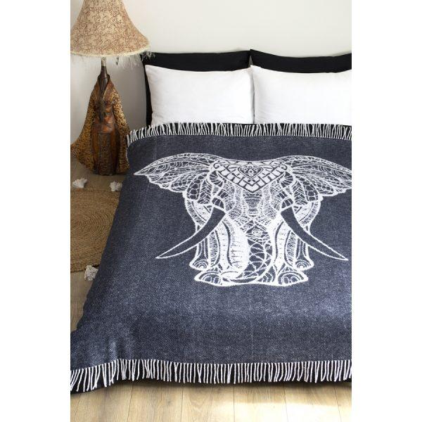 купить Плед Lotus Zeus Elephant антрацит