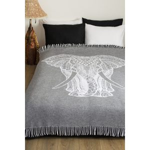 купить Плед Lotus Zeus Elephant grey