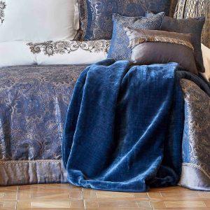 купить Покрывало с наволочками Karaca Home Venita lacivert