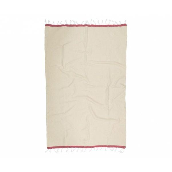 купить Пляжное полотенце Barine Pestemal Basak Beige-Marsala