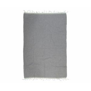 купить Пляжное полотенце Barine Pestemal Basak Grey Light Grey